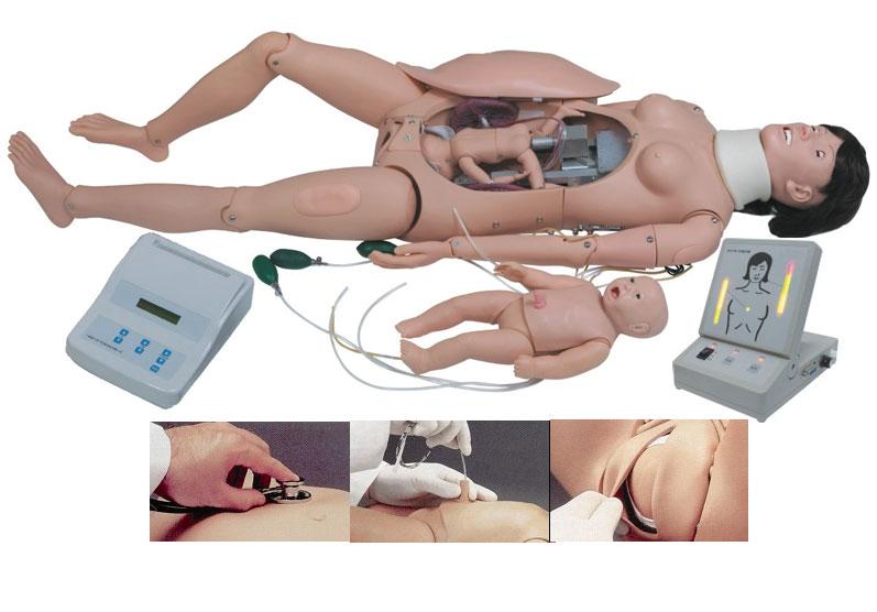 F55高级分娩与母子急救模拟人